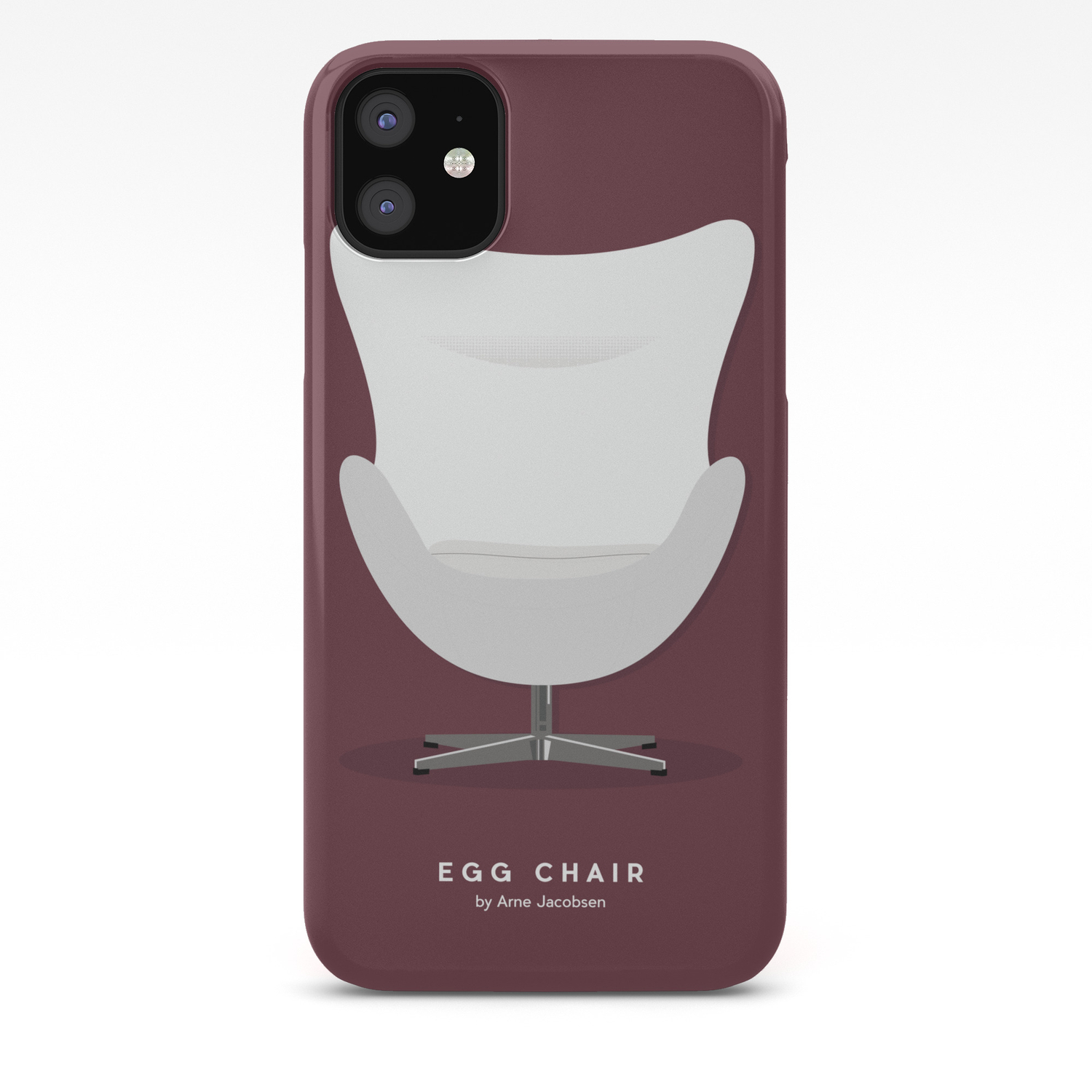 Arne Jacobsen Egg Chair.Egg Chair Arne Jacobsen Iphone Case By Matteomuci Society6