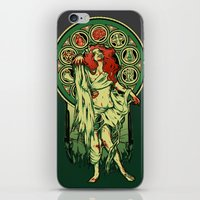 nouveau iPhone & iPod Skins featuring Zombie Nouveau by Megan Lara