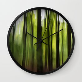 Woodland Insanity Wall Clock