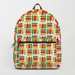 Condiments - BBQ Doodle Pattern Backpack