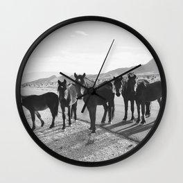Cold Creek Horse Crew Wall Clock