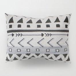 Gray Lines Pillow Sham