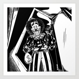 The Tale of Laughing in the Dark Art Print