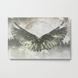 Wilderness in my heart Metal Print