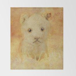 Little Lion cub Throw Blanket