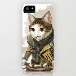 Rider Cat iPhone Case