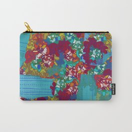 FLOWER PATCHWORK Carry-All Pouch