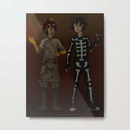 Halloween Buddies Metal Print