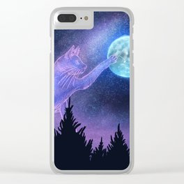 Space Dust Clear iPhone Case
