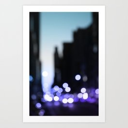Big lights will inspire you Art Print