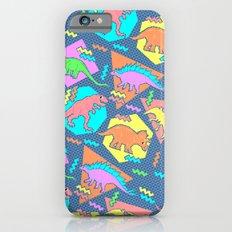 Nineties Dinosaur Pattern iPhone 6s Slim Case