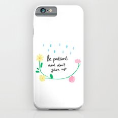Motivational thoughts iPhone 6s Slim Case