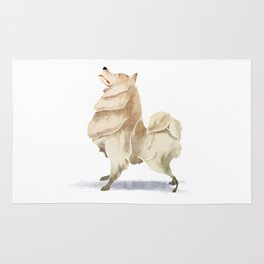 Samoyed Rug