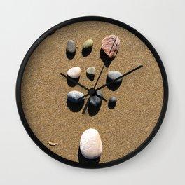 Organized Stones  Wall Clock