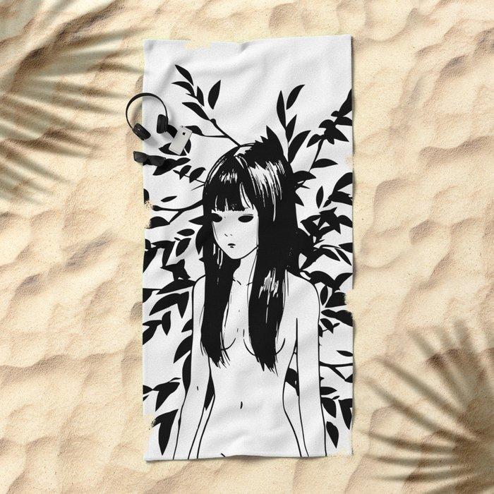 Morning dreamwalk Beach Towel