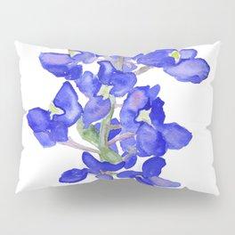 Bluebonnet Watercolor Pillow Sham
