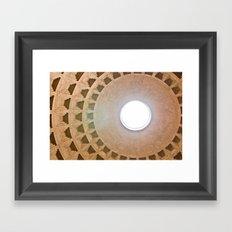 Pantheon Dome Framed Art Print