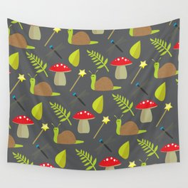 Fairy Garden Pattern 2 Wall Tapestry