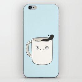 whoa, coffee! iPhone Skin
