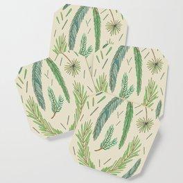 Pine Bough Study Coaster