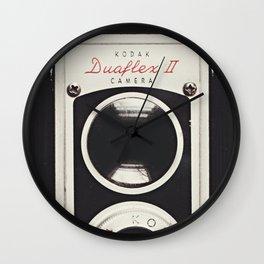 kodak duaflex 2 Wall Clock