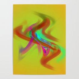 el placa de colore Poster