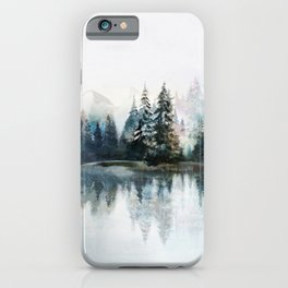 Winter Morning iPhone Case