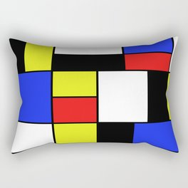 Mondrian #20 Rectangular Pillow