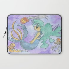 Mermaid and Jellyfish Laptop Sleeve