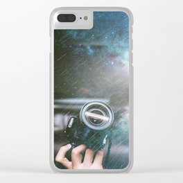 Shooting for the Stars Clear iPhone Case