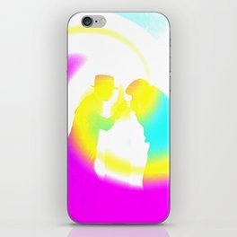 Spark Me Up iPhone Skin