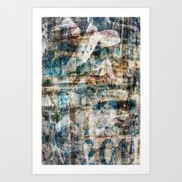 Torn Posters 1 Art Print