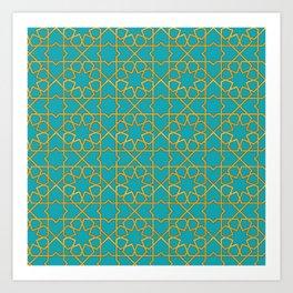 Beautiful Moroccan Pattern Design Art Print