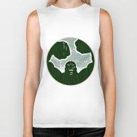 hulk Biker Tanks featuring Hulk by Duke Dastardly