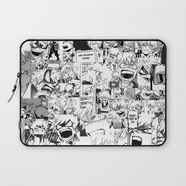 angry bakugou collage Laptop Sleeve