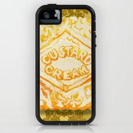 Custard Cream Dream iPhone Case