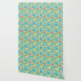 Dinos Green Wallpaper