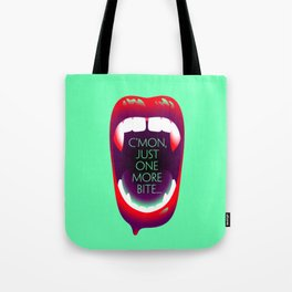 One More Bite (Mint) Tote Bag