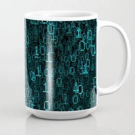 Binary Data Cloud Coffee Mug