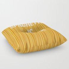 Spaghetti is truth Floor Pillow