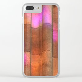 stained-glass reflection Clear iPhone Case