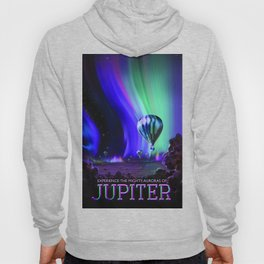 NASA Jupiter Planet Retro Poster Futuristic Best Quality Hoody