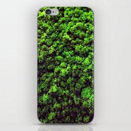 Dark Green Moss iPhone Skin