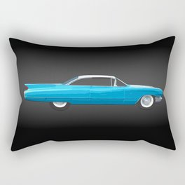 1960 Cadillac Coupe De Ville Rectangular Pillow