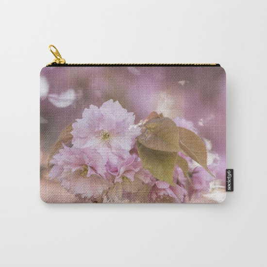 Cherryblossom LOVE - Sakura - Pink Flower Flowers on #Society6 Carry-All Pouch