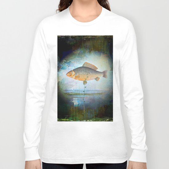 The surrealist fish Long Sleeve T-shirt