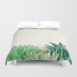 Succulent Forest Duvet Cover