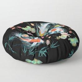 Japanese Water Garden Floor Pillow