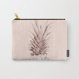 Pink Gold Pineapple Carry-All Pouch