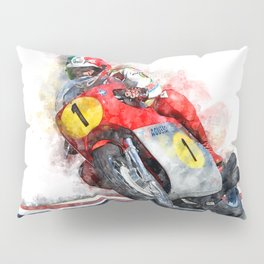 Giacomo Agostini Pillow Sham